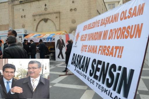 AK Parti Haliliye ilçesinden Başkan Sensin atağı VİDEO ve FOTOĞRAFLI