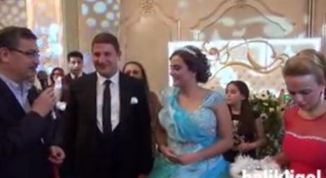Şahin Akıl ve Şebnem Kaya evliliğe adım attı VİDEO