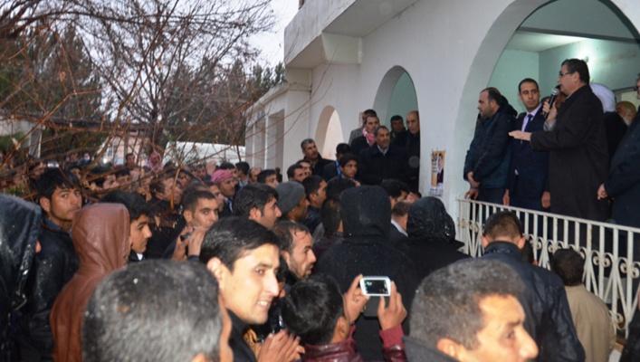 Güvenç, Huzurlu köyünde mesaj verdi VİDEO