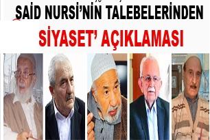 Said Nursi'nin talebelerinden 'siyaset' açıklaması