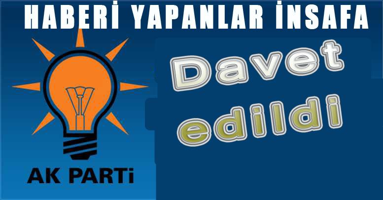 AK Parti'den Urfa İlçe Adaylarıyla İlgili Açıklama