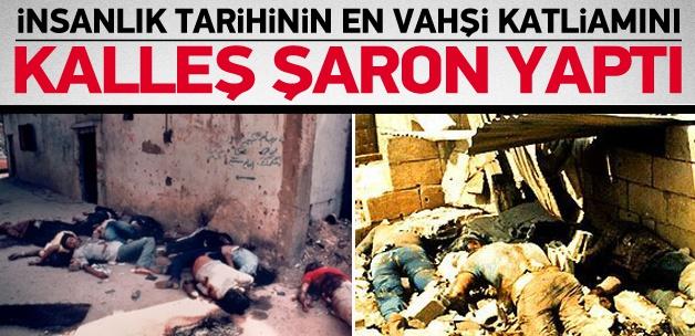 En vahşi katliamın mimarı Şaron'u böyle tanıyın