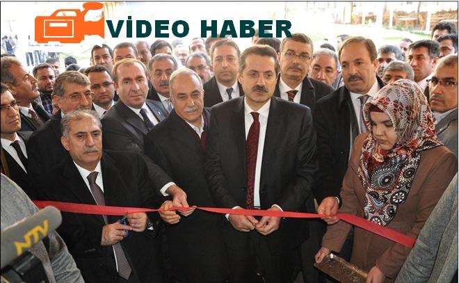 Bakan Çelik, Urfa'da seçim startını resmen verdi VİDEO