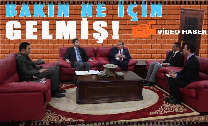 Irak Başkonsolosu Şanlıurfa'da!.. VİDEO
