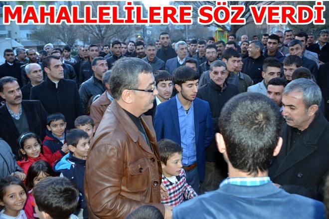 Urfa Eski Belediye Başkanı ailesinden Güvenç'e destek mitingi VİDEO