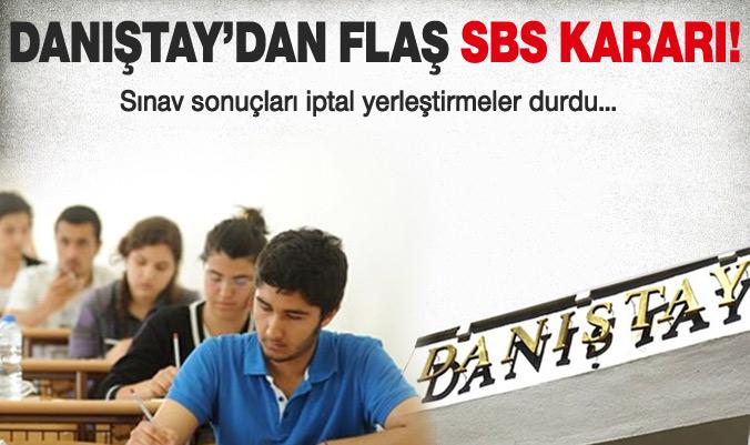 SBS Sınav sonuçları iptal edildi