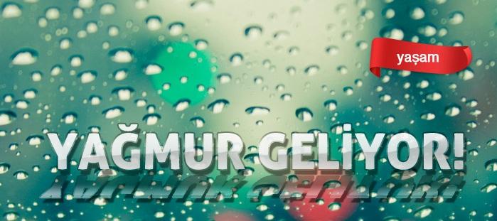 Şanlıurfa'ya Yağmur Geliyor