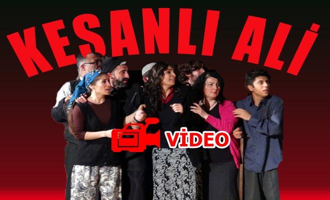 Keşanlı Ali Destanı gösterisi-VİDEO