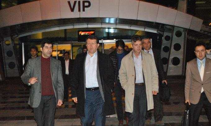 Hastaneler Birliği Genel Başkanı İhsan Dokucu Urfa'ya Geldi