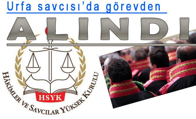 Şanlıurfa Cumhuriyet Savcısı'da Görevden alındı