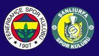 Fenerbahçe'nin umudu Şanlıurfaspor oldu