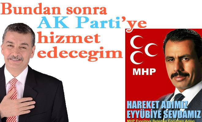 MHP'den İstifa Edip, AK Partiye Katıldı VİDEO