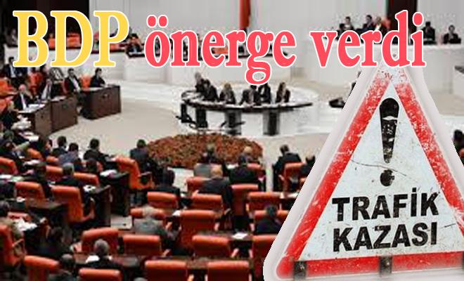 BDP, Trafik Kazaları için komisyon kurulmasını istedi