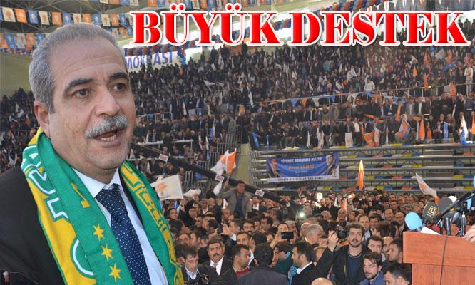 Aday tanıtımında Demirkol'a büyük destek