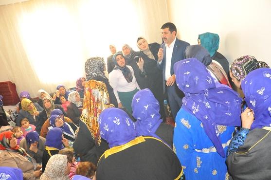 Eyyübiyeli kadınlardan Ekinci'ye destek VİDEO