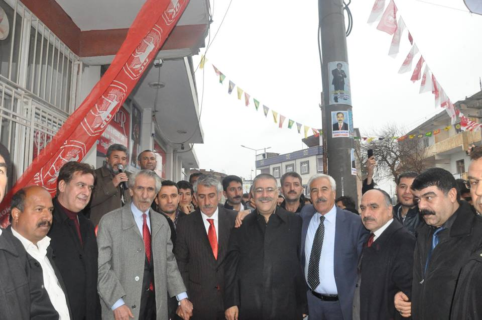 Hilvan'da Sabri Özkaya start verdi
