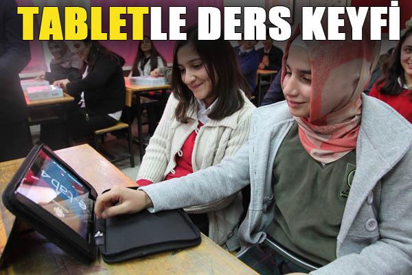 Urfa'da Öğrencilere Tablet Dağıtıldı
