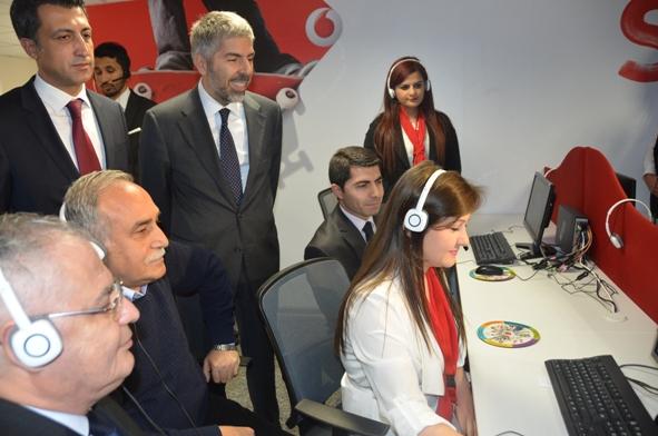 Vodafone Şanlıurfa'da çağrı merkezi açtı VİDEO