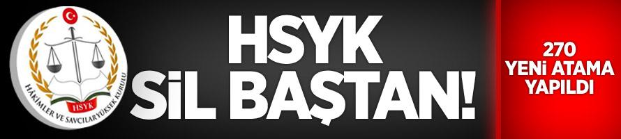 HSYK'da 270 Yeni Atama