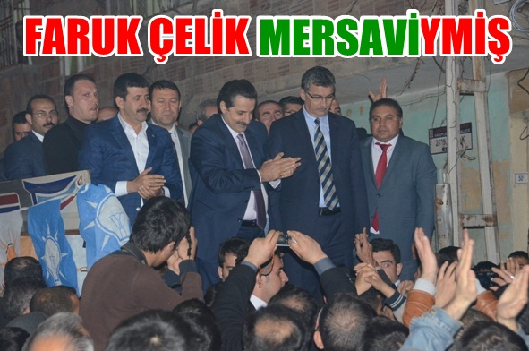 Faruk Çelik, Mersavi aşiretindenim VİDEO
