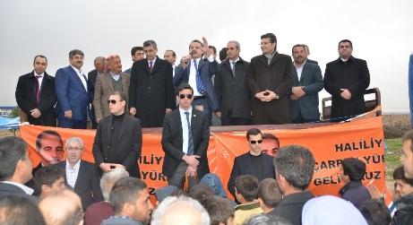Çelik ve Güvenç Çamlıdere'de mesaj verdi; Türkiye partisiyiz