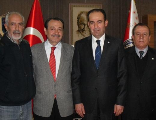 Kızılay'dan Şanlıurfa Emniyet Müdürü Akgül'e hayırlı olsun ziyareti