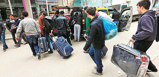 Bir haftada yurtlardan ayrılan öğrenci sayısı