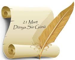 21 MART DÜNYA ŞİİR GÜNÜNÜ