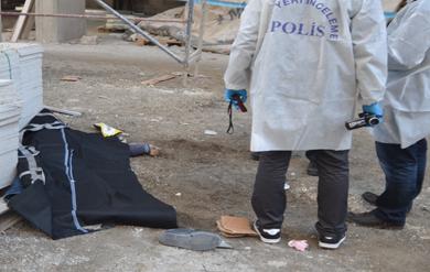 Urfa'da İnşaattan düşen genç hayatını kaybetti VİDEO