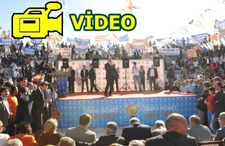 AK Parti Karaköprü mitingine 10 binler katıldı