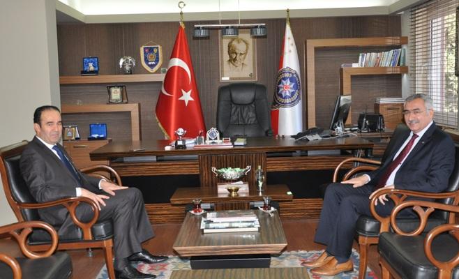 SGK'dan Emniyet Müdürü Akgül'e Ziyaret