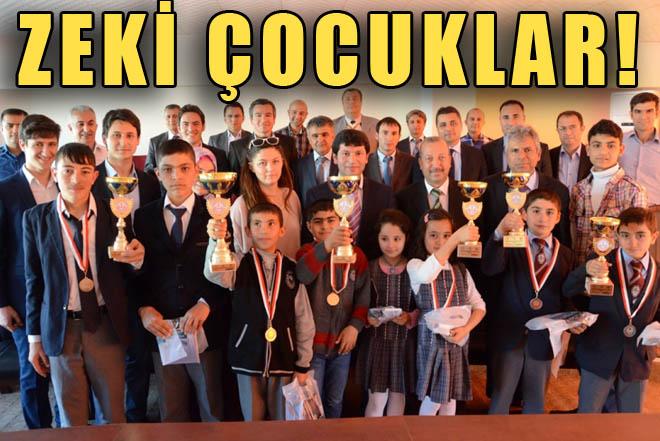 Urfa'da Zekâ Oyunları Yarışması Yapıldı