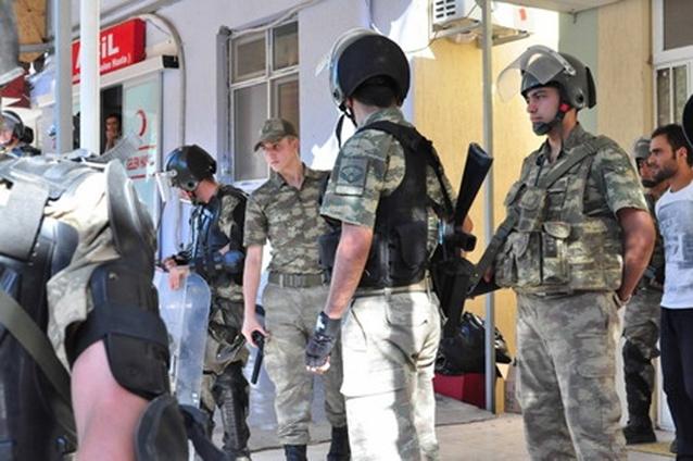 Ceylanpınar'da tutuklanan 10 asker serbest bırakıldı