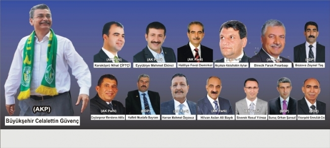 Şanlıurfa'da kazanan belediye başkanları tanıyalım
