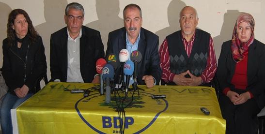 Şanlıurfa BDP'den seçim açıklaması VİDEO