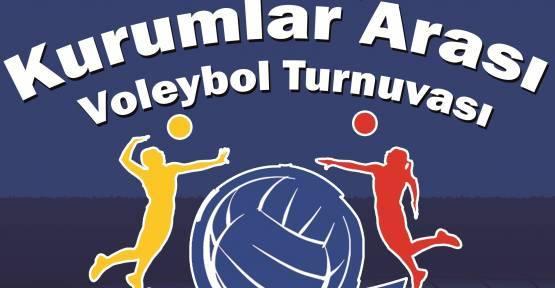 Kurumlar Arası Voleybol Bahar Turnuvası Başlıyor
