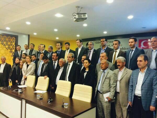 Haliliye Belediye meclisi ilk toplantısı ile görev dağılımı yaptı