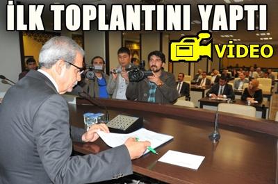 Haliliye Belediye Meclisi ilk toplantısını yaptı