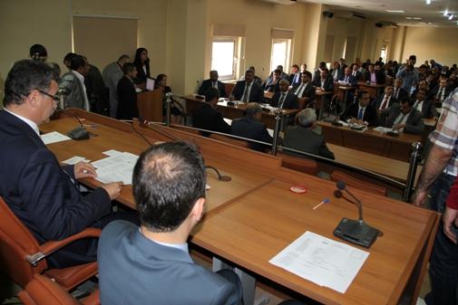Urfa Büyükşehir statüsünde ilk meclis toplantısında görev dağılımı