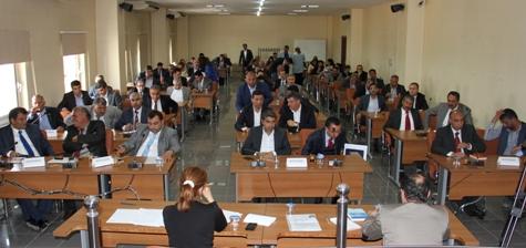 Büyükşehir Meclis Komisyonu belirlendi