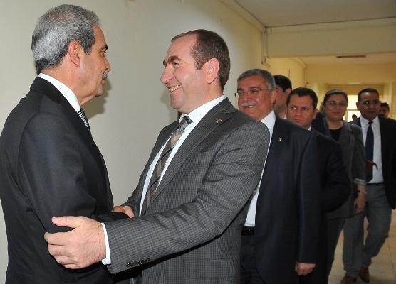 Demirkol'a tebrik ziyaretleri devam ediyor