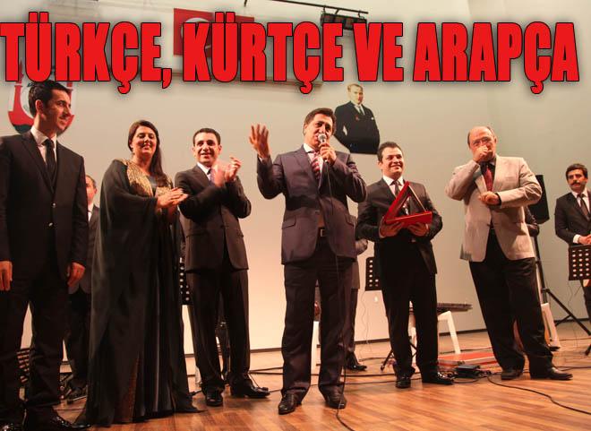 Üç Dilde Türkü Söylediler