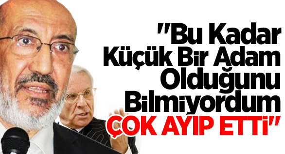 Dilipak'tan Sami Selçuk'a Sert Tepki