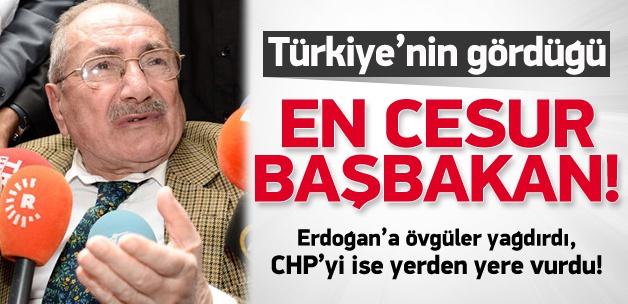 'Türkiye'nin gördüğü en cesur başbakan'