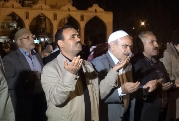 Urfalılar, Kunut duasıyla Mısırlı Müslümanlara destek verdi