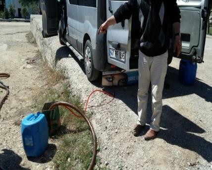 Urfa'da akaryakıt operasyonu