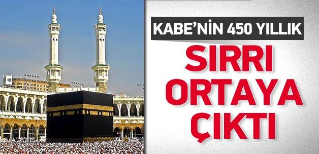 Kabe'nin 450 yıllık sırrı ortaya çıktı!