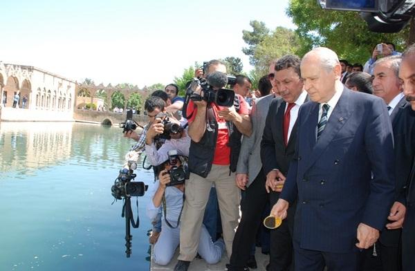 MHP Lideri Devlet Bahçeli, Balıklıgöl'de