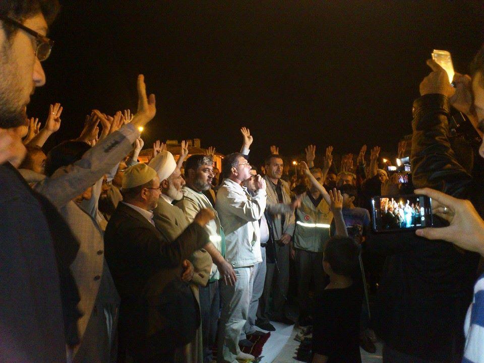 Mısır idamlarına Urfa'dan protesto