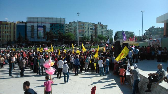 Şanlıurfa'da 1 Mayıs Bayram Havasında Geçti FOTO GALERİ